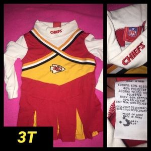 3t NFL Kansas City Chiefs Cheerleader Jumper